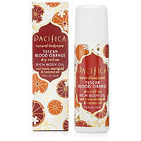 Pacifica Tuscan Blood Orange Dry Roll-On Rich Body Oil