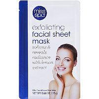 Miss Spa Exfoliating Facial Sheet Mask