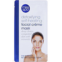 Miss Spa Detoxifying Self-Heating Facial Crme Mask