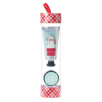 Simple Pleasures Vanilla Lip Balm & Snow Flurries Hand Cream Gift Set, Ovrfl Oth