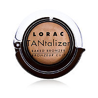 Lorac Travel Size Matte Tan TANtalizer Baked Bronzer