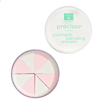 Earth Therapeutics Precisso Cosmetic Blending Wedges With Purifying Bamboo Charcoal (Earth/Bamboo/Charcoal)
