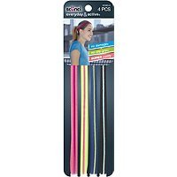 Scunci 4-Pk No Slip Head Wraps