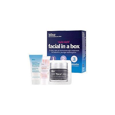 Bliss Night, Night Facial In A Box