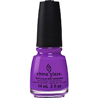 China Glaze Electric Nail Lacquer with Hardeners Collection