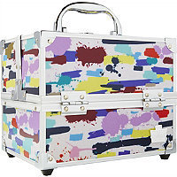 Caboodles Adored 4 Tray Train Case