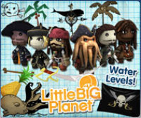 Sony Computer Entertainment Little Big Planet Pirates of the Caribbean Promo Pack DLC