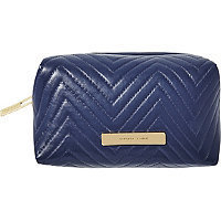 Tartan + Twine Azalea Tryst Blue Makeup Box