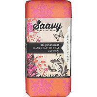 Saavy Bulgarian Rose Bar Soap