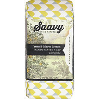 Saavy Yuzu & Meyer Lemon Bar Soap
