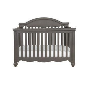 Million Dollar Baby Etienne 4-in-1 Convertible Crib, Grey