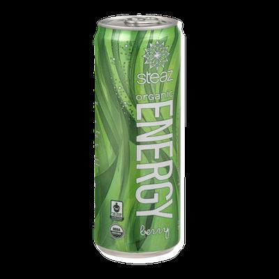 Steaz Organic Energy Drink Berry