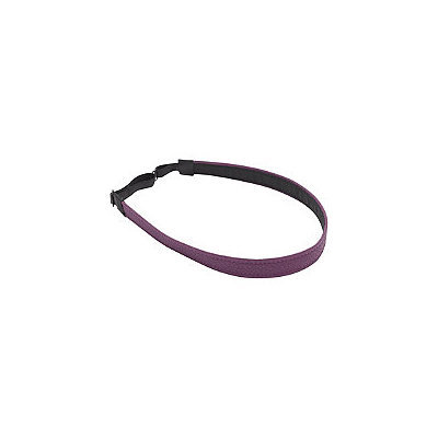 Karina Mulberry Faux Leather Head Wrap