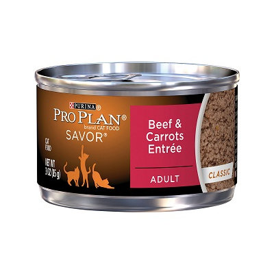 PRO PLAN® SAVOR® ADULT Beef & Carrots Entree Classic