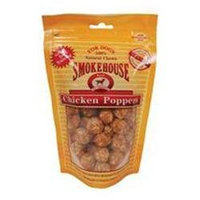 Smokehouse Brand Dog Treat Chicken Poppers 1lb Tub
