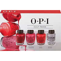 OPI Mini Nail Lacquer 4 Piece Cult Favorites Set