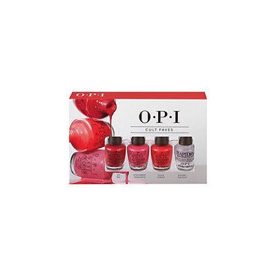 OPI Mini Nail Lacquer 4 Piece Cult Favorites Set
