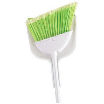 Butler 411206 Angle Broom with Clip On Dust Pan (Discontinued by Manufacturer)