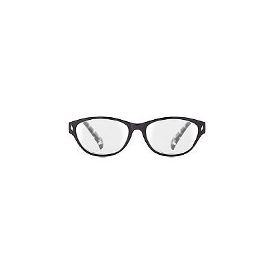 Starlight Oval Reader with Polka Dot Temples