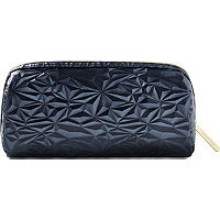 Tartan + Twine Armory Stone Black Pencil Case