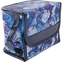 Anna Martina Franco Romantic Floral Magnetic Cover Cosmetic Case