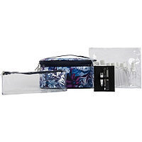 Anna Martina Franco Romantic Floral Large Train Case With Accessories