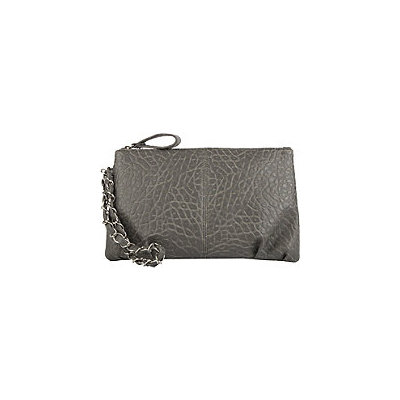 Anna Martina Franco Gathered Pebble Clutch