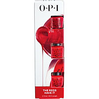 OPI Mini Nail Lacquer 3 Piece The Reds Have It Runway Colors Mini Set