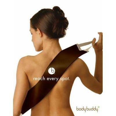 Body Buddy Non Absorbent Lotion Applicator (Dark Brown Walnut Color)