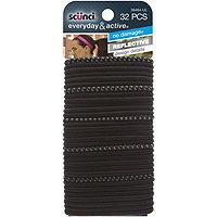 Scunci Everyday & Active Elastics No Damage Solid Black
