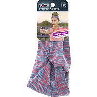Scunci Everyday & Active Turban Head Wrap Pink/Aqua
