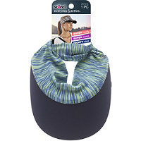 Scunci Head Wrap Visor Green & Navy