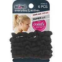 Scunci Twister Mini Super Soft Black