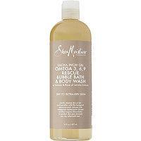 SheaMoisture Sacha Inchi Omega 3,6,9 Rescue & Replenishing Bubble Bath & Body Wash