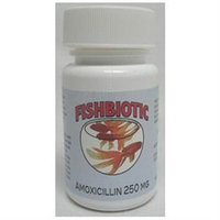 Durvet Amoxicillin Capsule Fish Antibiotic- 250 Miligram