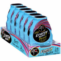 4C Energy Rush Berry Liquid Water Enhancer