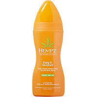 Hempz Yuzu & Starfruit Daily Herbal Moisturizing Dry Oil Body Spray Broad Spectrum SPF 30