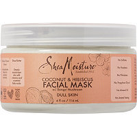 SheaMoisture Coconut & Hibiscus Facial Mask