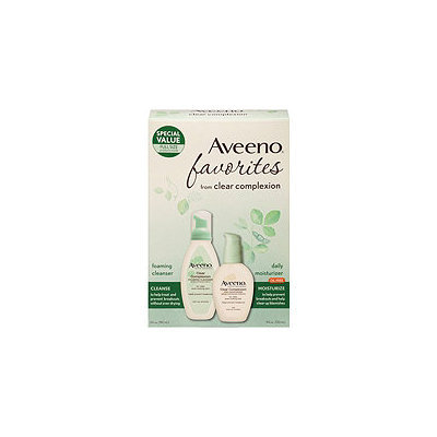Aveeno® Clear Complexion Cleanser & Moisturizer Favorites Pack