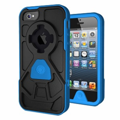 Rokshield v3 Case iPhone 5, Black and Blue, 1 ea