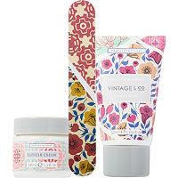 Heathcote & Ivory Vintage & Co Fabrics & Flowers Nail Care Set