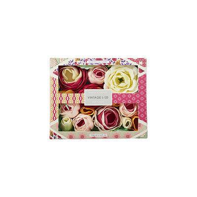 Heathcote & Ivory Vintage & Co Fabrics & Flowers Soap Flowers