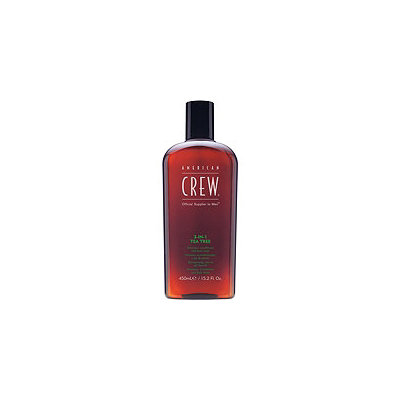 American Crew 3-in-1 Tea Tree Shampoo, Conditioner and Body Wash