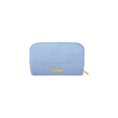 Tartan + Twine Blue Aster Medium Clutch
