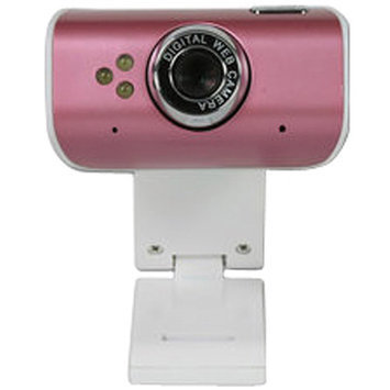ROCKSOUL AWA Wk-105 720p HD Webcam, Rose