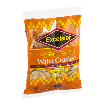 Excelsior Genuine Jamaican Water Crackers Cinnamon