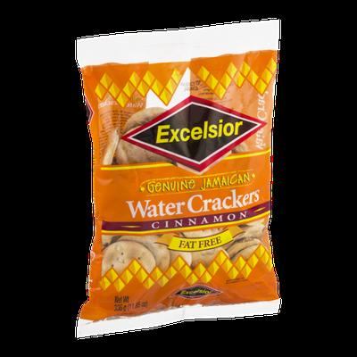 Excelsior Genuine Jamaican Water Crackers Cinnamon