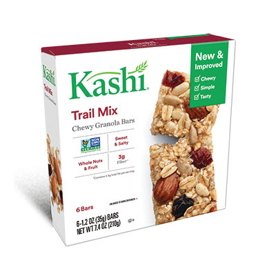 Kashi® Trail Mix Chewy Granola Bars