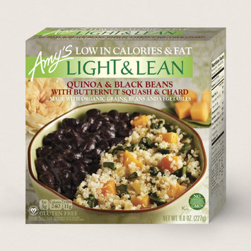 Amy's Kitchen Quinoa & Black Beans With Butternut Squash & Chard Light & Lean