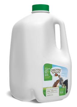 Organic Valley® Fat Free Skim Milk, Pasteurized, Gallon